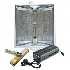 "Maxibright Digilight Pro 600w Variable Ballast with Maxibright Gold Star 5"" Reflector and Sun Lux Pro Bulb Lighting Kit"